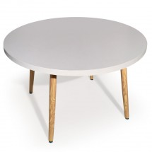 Table ronde Blanc Boisa