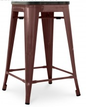tabouret de bar bronze. Black Bedroom Furniture Sets. Home Design Ideas