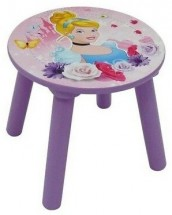 Tabouret Princesses Disney