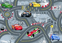 Tapis Cars World of Cars 2