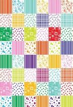 Tapis Chambre Fille Multicolore Louna ...