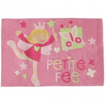 Tapis rose Fée Domiva