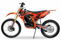 Tornado 250cc orange 21/18 pouces Moto cross adulte