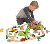 Train en bois bucket dinosaure Kidkraft 18016