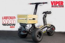 Trottinette électrique Velocifero Mad Truck 2000W lithium Army