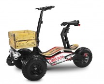 Trottinette électrique Velocifero Mad Truck 2000W lithium Rouge