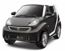 Voiture électrique Smart For Two noir 2x30W 6V