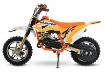 Whisper 50cc orange 10/10 Moto cross enfant