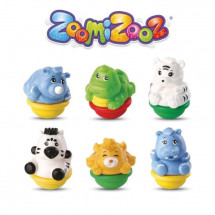 ZOOMIZOOZ - COFFRET 6 ANIMAUX JUNGLE